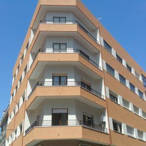 Rehabilitación de fachada Sistema Sate aislamiento de fachadas