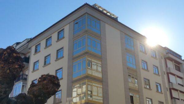 Rehabilitación de fachadas Sistema SATE Aislamiento de fachada